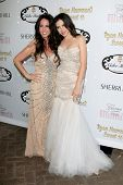 LOS ANGELES - APR 27:  Ryan Newman, Jody Newman at the Ryan Newman's Glitz and Glam Sweet 16 birthda