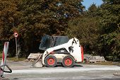 Bobcat excavator