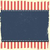 detailed illustration of a grungy patriotic background, eps 10 vector
