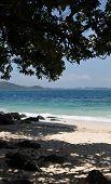 Wonderful Beach On Coral Island
