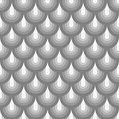 Seamless Geometric Pattern Grey Fishskin