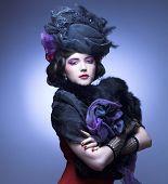 Vintage lady.
