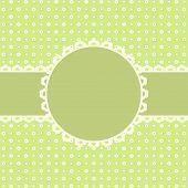 Template frame design for congratulations