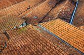Portuguese rooftops in Porto, Portugal.