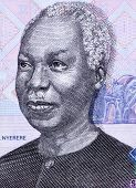 TANZANIA - CIRCA 2006: Julius Nyerere (1922-1999) on 1000 Shilingi 2006 Banknote from Tanzania. First President of Tanzania during 1961-1985.