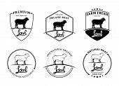 Vintage Lamb Labels