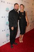 LOS ANGELES - OCT 23:  Brian Bowen Smith, Ronda Rousey at the De Re Gallery & Casamigos Host The Opening Brian Bowen Smith's