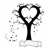 Hearts Tree