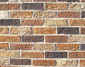 House wall with clinkers