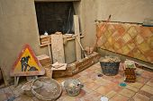 Incomplete Rustic Andalusian Courtyard