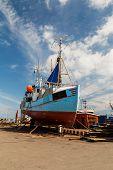 Fishing Vessel In Dock