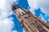 Tower Of The Nieuwe Kerk In Delft