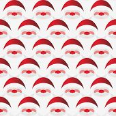 Pattern of Santa Claus