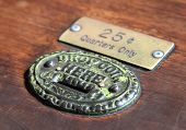 Old Antique Coin Slot