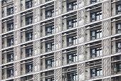 Modern apartment or condominium building exterior close