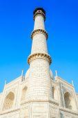 The Minar of Taj Mahal
