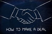 Shaking Hands, Partnership And Deals