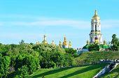 stock photo of kiev  - Kiev Pechersk Lavra monastery in Kiev Ukraine - JPG