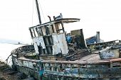 Derelict Fishing Trawler