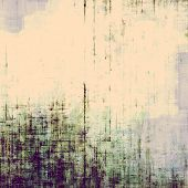 Old-style background, aging texture. With different color patterns: yellow, violet, blue, gray