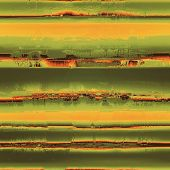 Rough vintage texture. With different color patterns: yellow, brown, orange, green