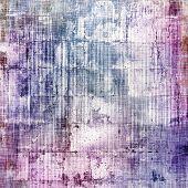 Art grunge vintage textured background. With different color patterns: purple (violet), blue, gray