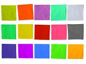 Sticky Colored Paper Template