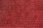 Vinous Velveteen Fabric