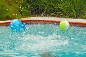 Splashn in the pool