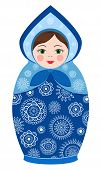 Russian tradition matryoshka dolls