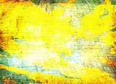 Multicolored Messy Texture As Abstract Background.