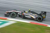 Bruno Senna of Hispania Formula One Racing Team