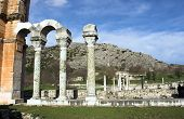 Ruins Of The Ancient City Philippi