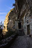 Saint Sava hermitage high up in a mountain near Studenica monastery