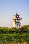 Covehead Harbour lighthouse, Prince Edward Island, Canada
