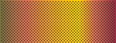 High resolution concept conceptual orange  metal stainless steel aluminum perforated pattern texture mesh banner background