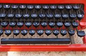picture of hebrew  - Vintage typewriter with Hebrew letters close up - JPG