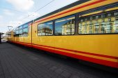 foto of tram  - Tram  - JPG