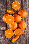 pic of clementine-orange  - fresh clementine or orange - JPG