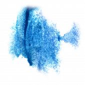 picture of insulting  - Abstract watercolor blue background   for your  design insult - JPG