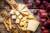picture of antipasto  - Cheese plate - JPG