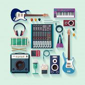 pic of tuning fork  - Musical equipment - JPG