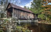 stock photo of covered bridge  - Turkey Jim