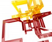 Abstract Archi Structure008