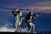stock photo of rifle  - military - JPG