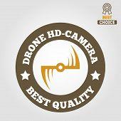 stock photo of drone  - Logo - JPG