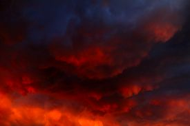 picture of terrific  - Blurred Natural Red Dramatic Clouds Area Background - JPG