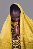 African Christian Woman