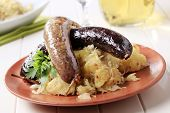 Blood Sausage And White Pudding