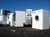 White Goods In A Dump